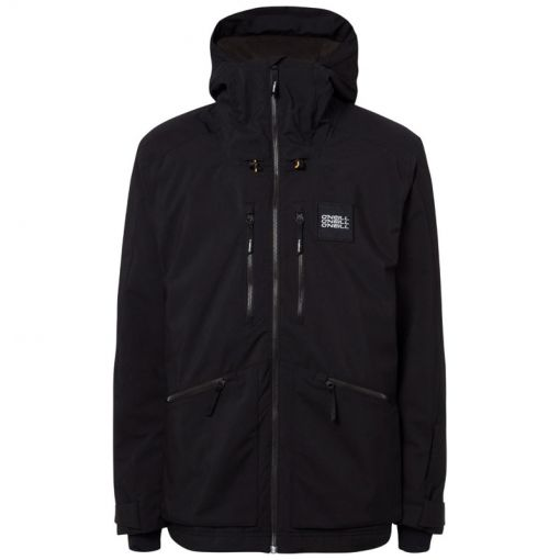 O'Neill heren ski jas Textured Jacket - zwart