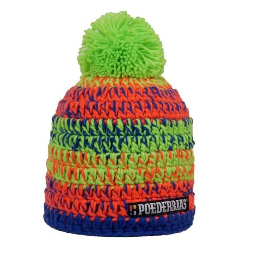 Beanie - Green/Orange