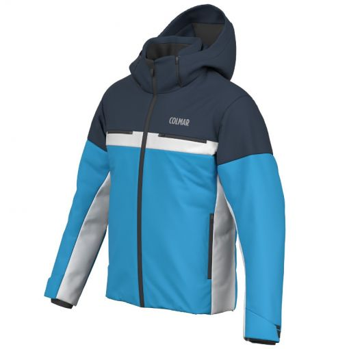 Colmar heren ski jas Apporo - 355 Mirage Blue Black