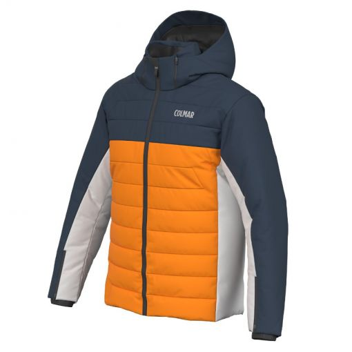 Colmar heren ski jas Sapporo - 440 Orange Pop