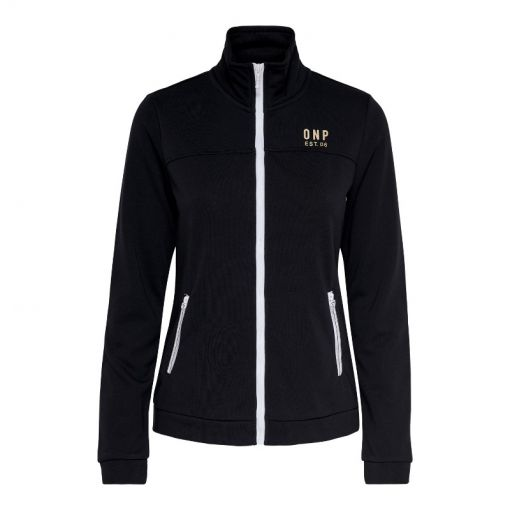 Only dames vest Nahla Zip Sweat - Zwart