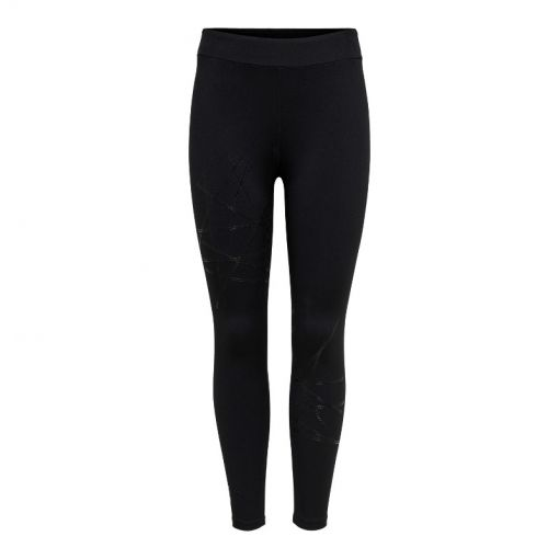 Only dames fitness tight Nigella 7/8 training - 177911001 Black/W. BLACK SHINY