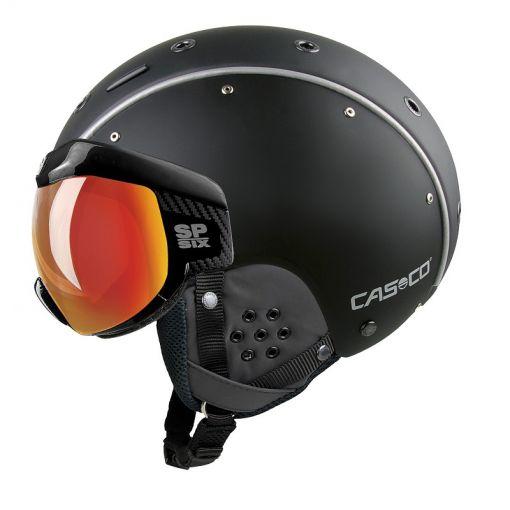 Casco skihelm SP-6 Visor - Zwart