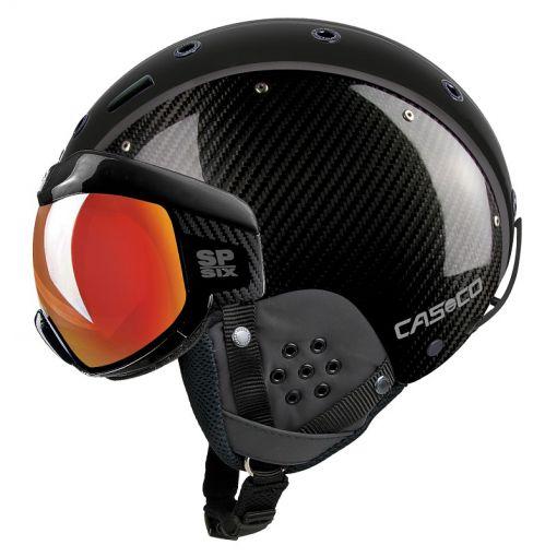Casco skihelm SP-6 Visor Limited - Carbon Black