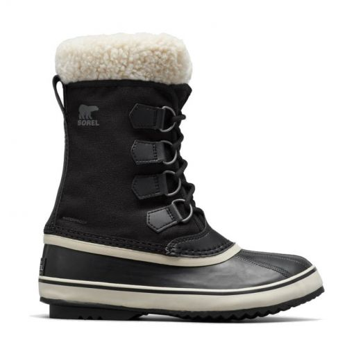 Sorel dames snowboot Winter Carnival - 011 Black Sto