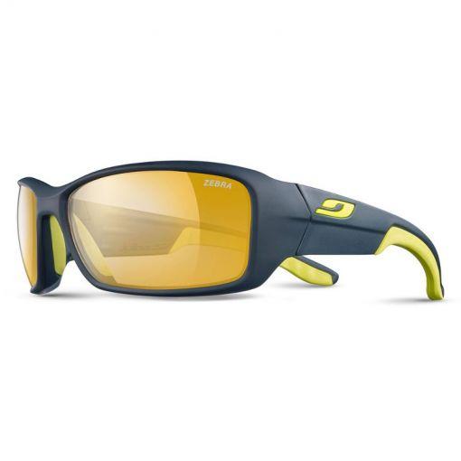 Julbo zonnebril Run RV P2-4 - Bleu/Jaune