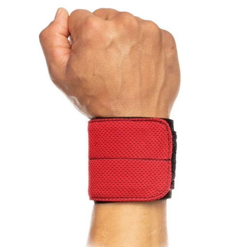 Flex Fit Wrist Wrap - Black/ Scarlet