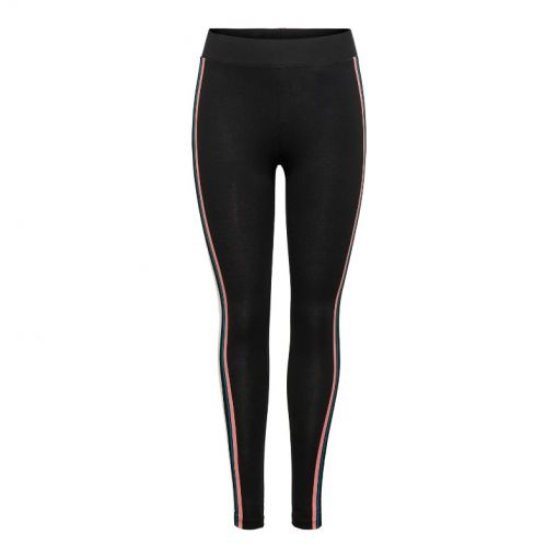 Only dames legging Delight HW Jersey Leggings SP - 177911002 Black/W. WHITE. SS &
