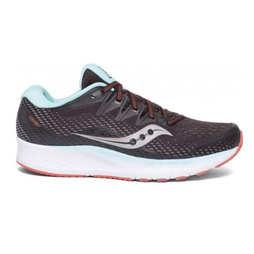 Saucony dames hardloopschoen Ride Iso 2 - STD BROWN-CORAL