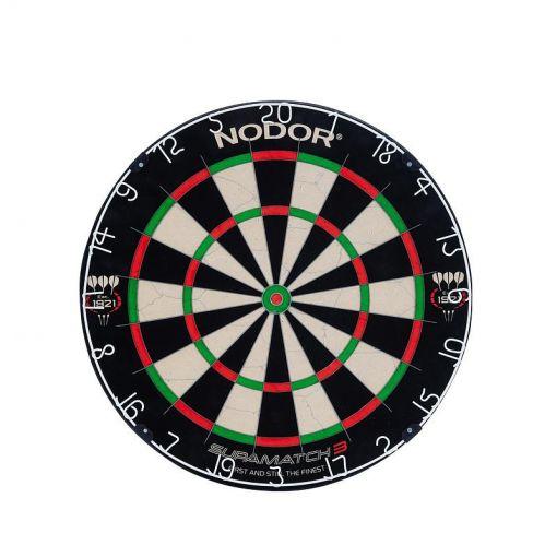 Harrows dartbord Nodor  Supamatch III - Zwart