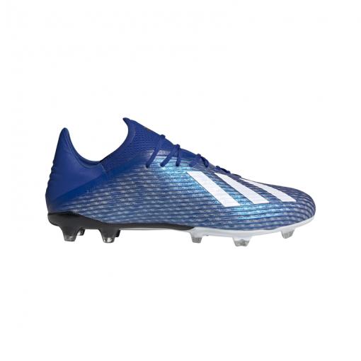 Adidas voetbalschoen X 19.2 FG - ROYBLU/FTWWHT/CBL ROYBLU/FTWWH