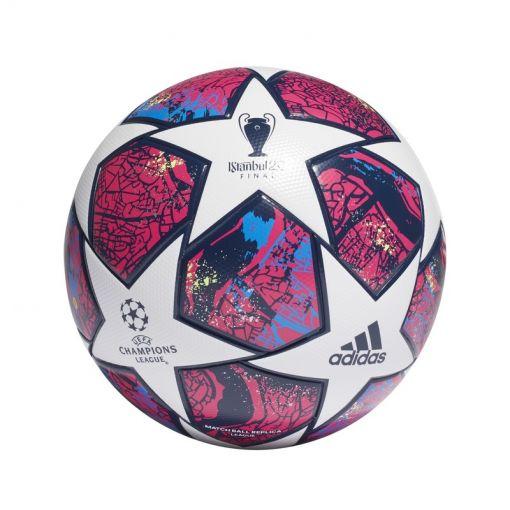 Adidas voetbal Fin Ist Lge - WHITE/PANTON/GLOB WHITE/PANTON