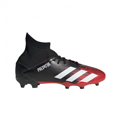Adidas junior voetbalschoen Predator 20.3 FG J - Zwart