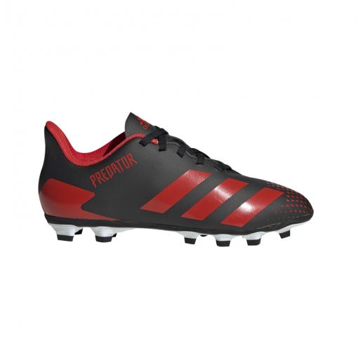 Adidas junior voetbalschoen Predator 20.4 FxG J - CBLACK/ACTRED/CBL CBLACK/ACTRE