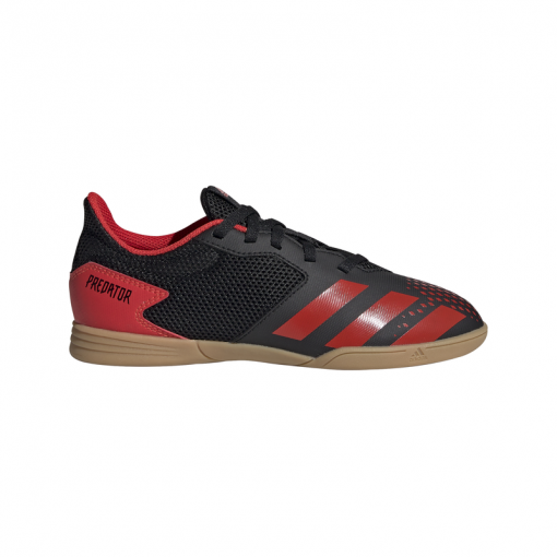 Adidas junior zaalvoetbalschoen Predator 20.4 In S - CBLACK/ACTRED/CBL CBLACK/ACTRE