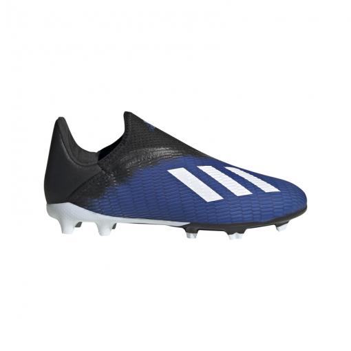 Adidas junior voetbalschoen X 19.3 LL FG J - ROYBLU/FTWWHT/CBL ROYBLU/FTWWH