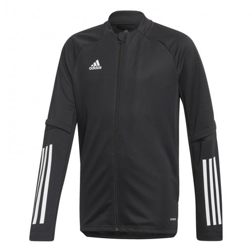 Adidas junior trainingsjack CON20 TR JKT Y - Zwart