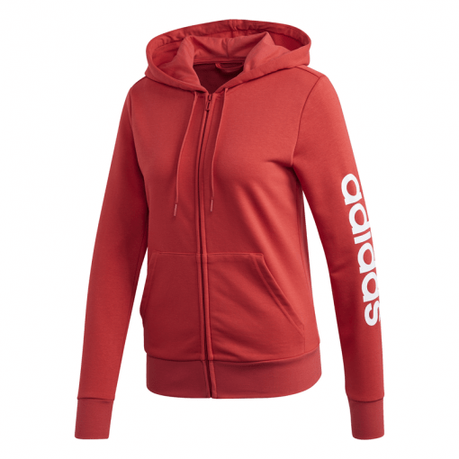 Adidas dames vest W E LIN FZ HD - GLORED