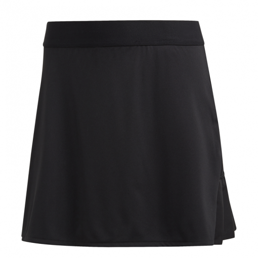 Adidas dames tennis rokje CLUB LONG SKIRT - BLACK/MSILVE/BLAC BLACK/MSILVE