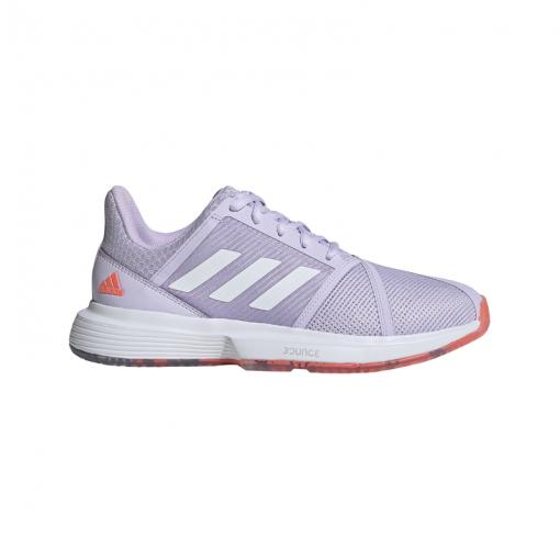 Adidas dames tennisschoen CourtJam Bounce W - SIGCOR/PRPTNT/TEC SIGCOR/PRPTN