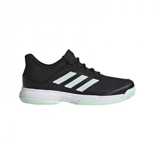 Adidas junior tennisschoenen Adizero CLUB K - CBLACK/DSHGRN/FTW CBLACK/DSHGR