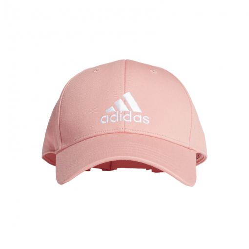 Adidas pet BBAL CAP COT - GLOPNK/GLOPNK/WHI GLOPNK/GLOPN