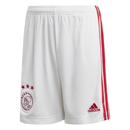 Ajax junior thuis short 2020/2021  - Wit