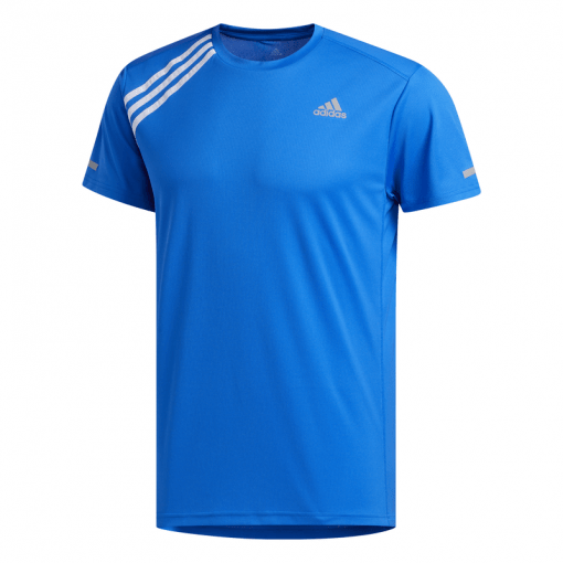 Adidas heren t-shirt OWN THE RUN TEE - GLOBLU/WHITE