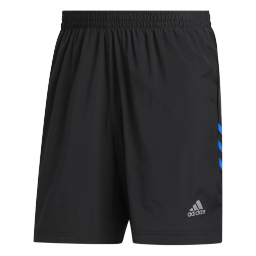 Adidas heren short RUN IT 3S SHORT - Zwart
