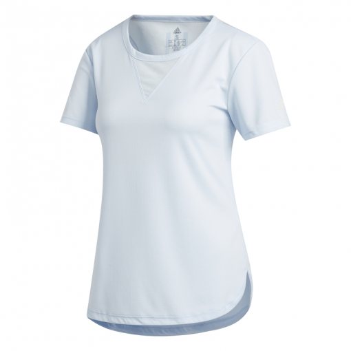 Adidas dames t-shirt TRG TEE H.RDY - SKYTIN