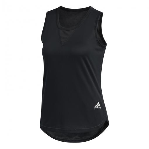 Adidas dames tanktop TRG TNK H.RDY - Zwart