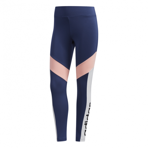 Adidas dames tight W D2M CB 78TIG - TECIND/BLACK