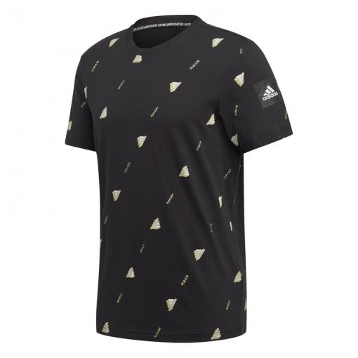 Adidas heren t-shirt MHE Tee GFX 2 - Zwart