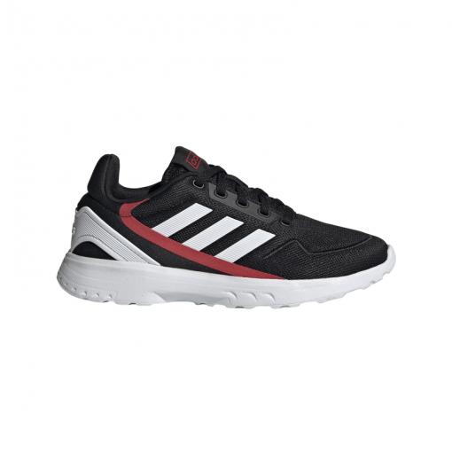 Adidas junior schoenen Nebzed K - Cblack/Ftwht