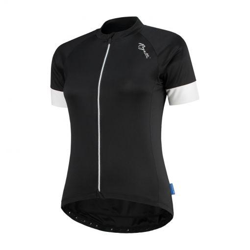 Rogelli dames wielrenshirt Km Modesta - Zwart/Wit