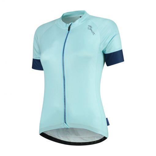 Rogelli dames wielrenshirt Km Modesta - Turquise/Blauw