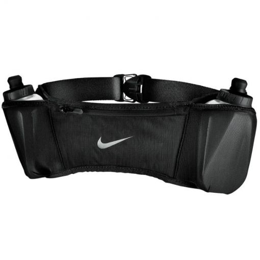 Nike heuptas DOUBLE POCKET BELT 20OZ 2.0 - 082 BlaBlaSil