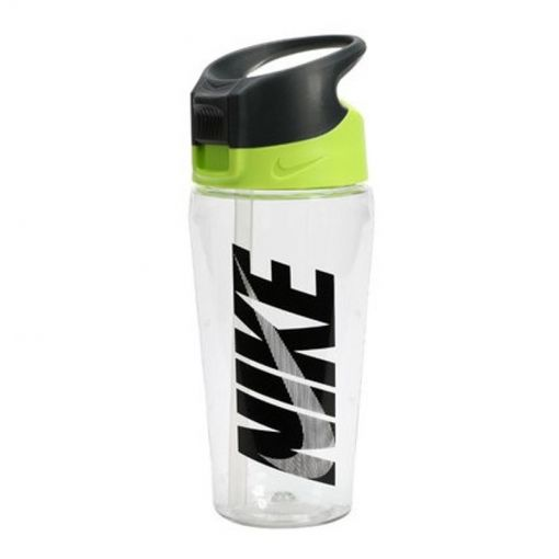 NIKE TR HYPERCHARGE STRAW BOTTLE GR - 984 CleGreRed