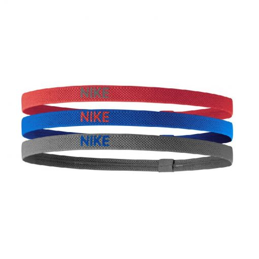 Nike haarbandjes Elastic Hairbands 3PK - 646 RedBluGre