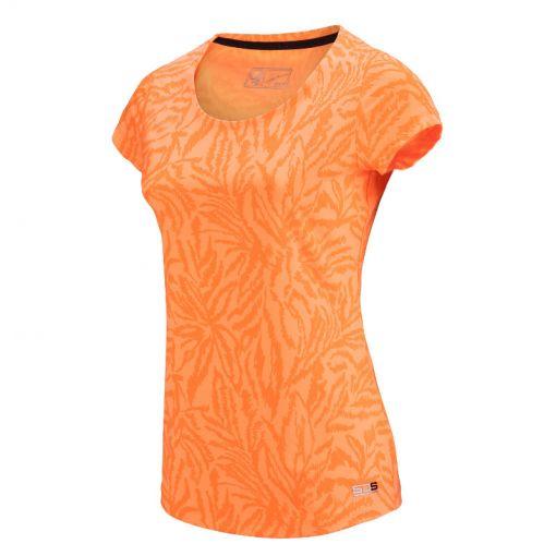 Sjeng Sports dames t-shirt Michelle - O303 sweet orange