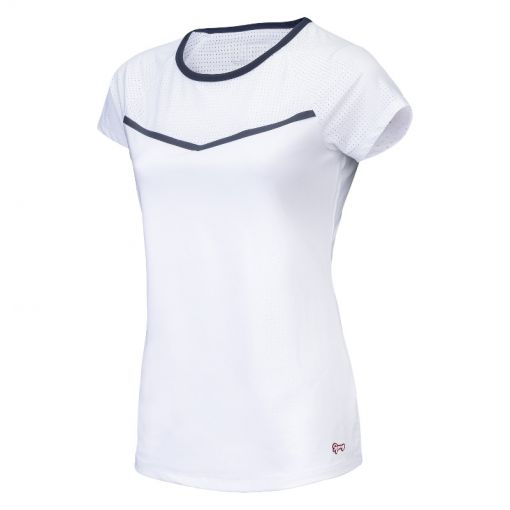 Sjeng Sports dames tennis shirt Tess - Wit