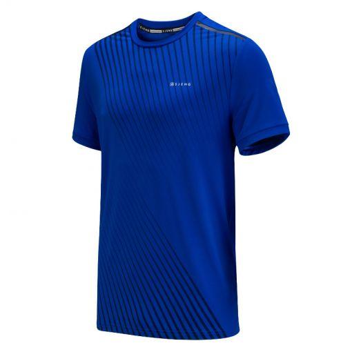 Sjeng Sports heren t-shirt Thomas - N097 blue neon
