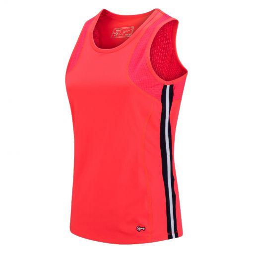 Sjeng Sports dames singlet Ulrika - P060 laser pink