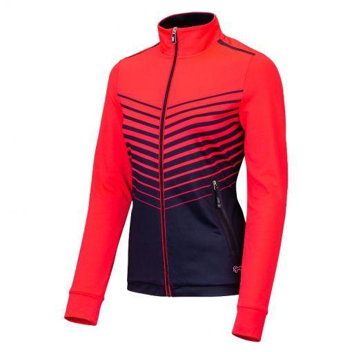 Sjeng Sports dames vest Valery - P060 laser pink