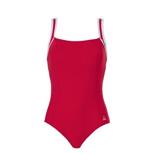 Tweka dames badpak Pool Swimsuit Soft Cup - 2066 Red
