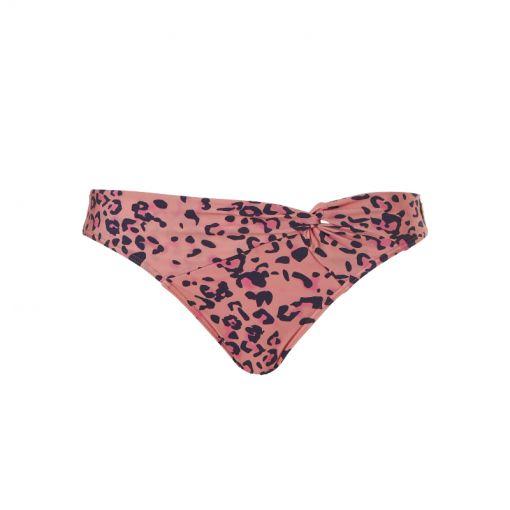 WOW dames bikini broek Knot Bikini Brief - 3022 wild animal