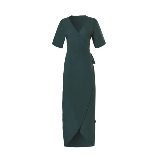 Wow dames strandjurk Wrap Dress - 2095 Sea Moss