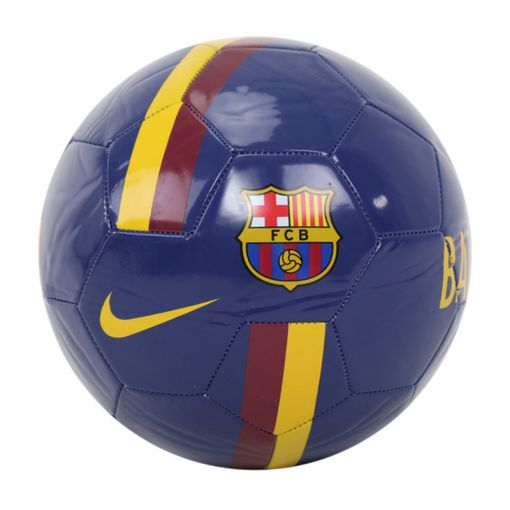 Nike voetbal FC Barcelona - 455 DEEP ROYAL BLUE/NOBLE RED/