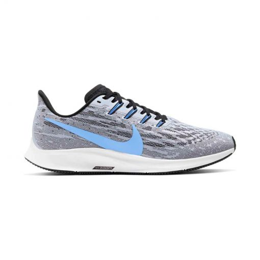 Nike heren hardloopschoenen Air Zoom Pegasus 36 - 101 White/University Blue