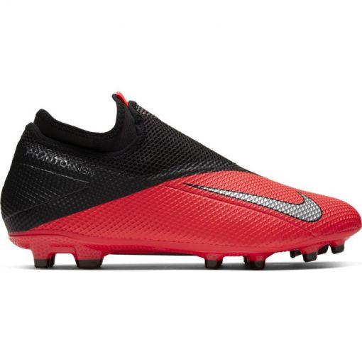 Nike voetbalschoen Phantom VSN 2 Academy DF FG/MG - 606 LASER CRIMSON/METALLIC SIL